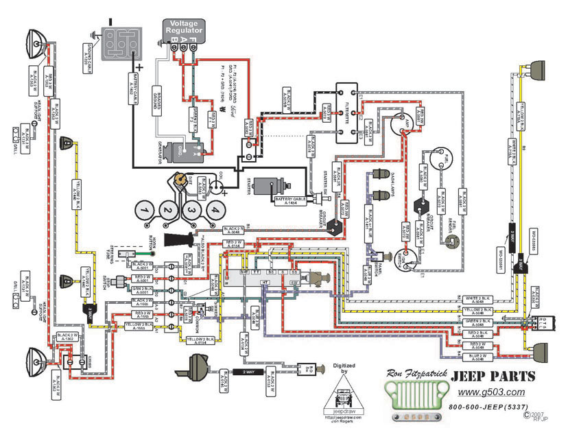 jeep mb wiring jeep mb ignition wiring diagram