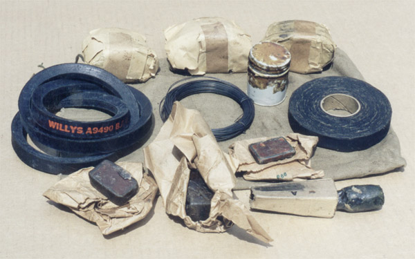 g503 - Tools for the WWII jeep, Ford GPW, Willys MB